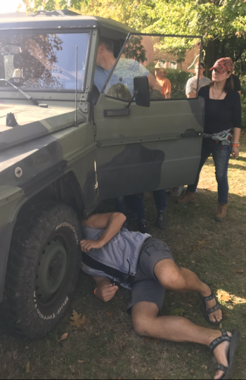 250 GD Wolf Tactical Vehicle Training